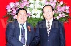 Vietnam, Laos strengthen trade union cooperation