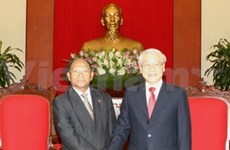 Party leader affirms priority to ties with Cambodia