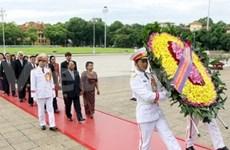 Cambodian NA President wraps up Vietnam visit
