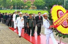 Leaders pay tribute to fallen soldiers