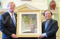 Minister introduces Vietnam's potential in London