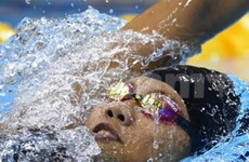 Vietnamese swimmer says goodbye to Olympics