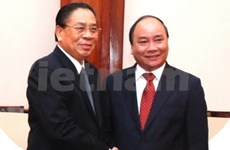 Deputy PM meets with Lao leaders