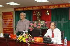 Leader urges more action on Party building