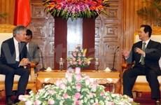 Prime Minister greets Australian Defence Minister