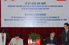 Canada assists Vietnam's training project