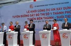 Work starts on HCM City's first metro line