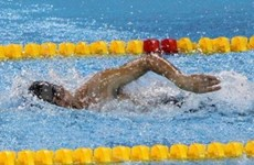 Vietnamese athletes at first day of Paralympics