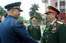 Vietnam, China hold strategic defence talks