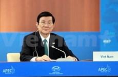 Vietnamese President active at APEC 20