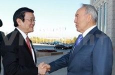 VN, Kazakhstan agree on wide-ranging cooperation