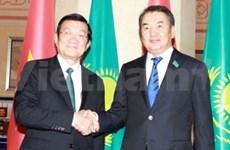 President Sang concludes visit to Kazakhstan