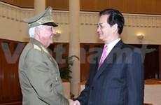 Vietnam cement defence ties with Cuba