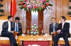 PM meets with German Minister of Economics and Technology