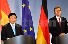 Foreign Minister holds talks with German counterpart