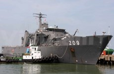 Singaporean Navy visits Da Nang City