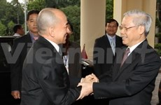 Vietnam, Cambodia agree to further ties