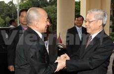 Cambodian King wraps up Vietnam visit