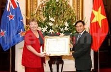 Friendship Order presented to New Zealand Ambassador