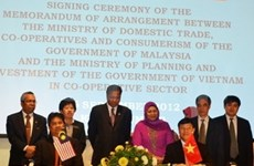 Vietnam, Malaysia boost cooperative development