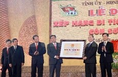 Historical complex becomes special national heritage
