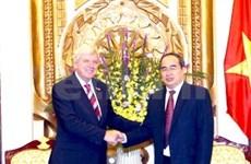 Vietnam, German State cement all-round cooperation