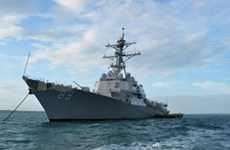 US, Cambodia navies join joint naval exercise