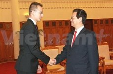 Prime Minister receives Hungarian, Israeli guests