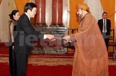 President Sang receives new ambassadors