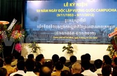 Cambodian Independence Day celebrated