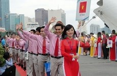 Youth ship drops anchor in Vietnam