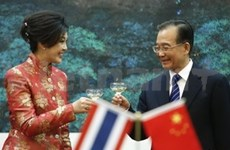 Chinese Premier visits Thailand to boost close ties