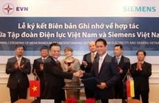 EVN, Siemens boost energy cooperation