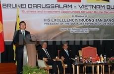 President Sang active in Brunei