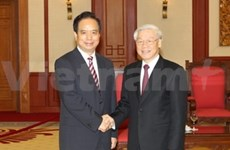 Chinese official updates leader on political changes