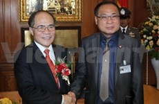 NA Chairman holds talks with Thai counterpart