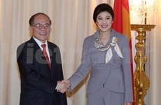 NA Chairman meets with Thai Prime Minister