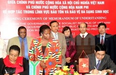 Vietnam, South Africa enhance biodiversity conservation cooperation