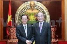 Vietnam, Lao NAs strengthen cooperation