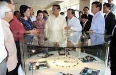 Lao leader concludes Vietnam visit