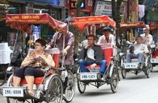 Hanoi posts record number of foreign visitors