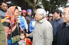 Party leader visits Lao Cai province