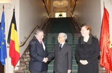 CPV leader meets with top Belgian legislators