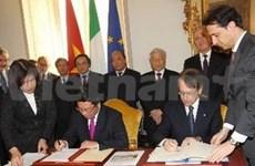 Vietnam, Italy set up strategic partnership