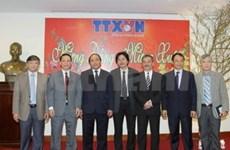 Deputy PM pays Tet visit to Vietnam News Agency