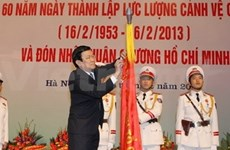 Guard force awarded Ho Chi Minh Order