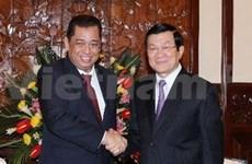 Vietnamese leaders receive Brunei Energy Minister
