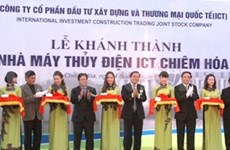 Vietnam's first green hydropower plant operational