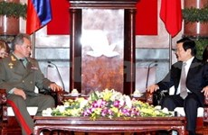 Vietnam, Russia further develop defence ties