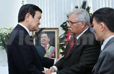 State leader pays tribute to Venezuelan President